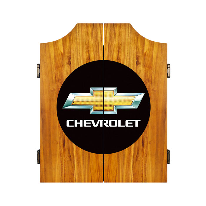 *FLASH ONLY* Chevrolet Dart Cabinet Includes Darts and Board