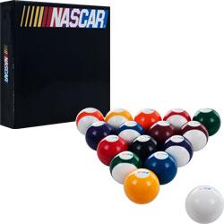 NASCAR Billiard Balls - Set of 16 Balls