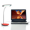 Northwest 18 LED USB Desk Lamp - Touch Activated - Red