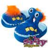 Silly Slippeez - Mr. Monster - Glow in the Dark - XL