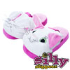 Silly Slippeez - Princess Kitty - Glow in the Dark - X Large