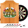 Texas Hold'em Dart Cabinet includes Darts and Board