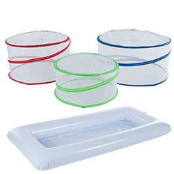 Chef Buddy Perfect Picnic Set -  3 Pop Up Food Covers & Buffet