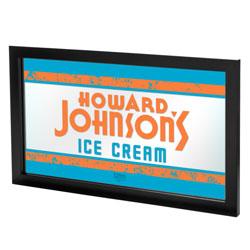 Howard Johnson Ice Cream Framed Logo Mirror