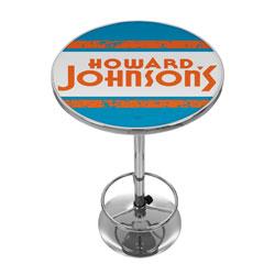 Howard Johnson Vintage Chrome Pub Table