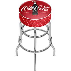 Coca-Cola Bar Stool - 100th Anniversary of the Coca-Cola Bottle