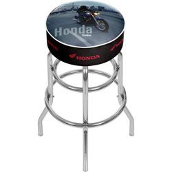Honda Shadow Padded Swivel Bar Stool