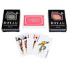 Two Decks of Royal 100% Plastic Playing Cards with Star Pattern