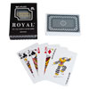 Blue Royal 100 % Plastic Playing Cards with Star Pattern
