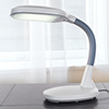 Lavish Home LED Sunlight Desk Lamp with Dimmer Switch