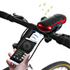 Portable Bluetooth Speaker w/Flashlight-Phone Bracket and Bike Mount