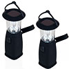 Whetstone 6 LED Camping Lantern-Solar and Dynamo Powered-Set of 2
