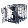 PETMAKER Medium 2 Door Foldable Dog Crate Cage - 30 x 19 Inch