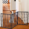 PETMAKER Easy Up Free Standing Pet Gate - Does not screw into walls