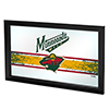 NHL Framed Logo Mirror - Minnesota Wild�