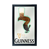 Guinness Framed Mirror Wall Plaque 15 x 26 Inches - Feathering
