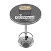 Guinness Chrome Pub Table - Line Art Pint