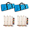Set of 2 Complete Croquet Set with Carrying Case by Trademark Games?