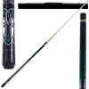 Emerald Green Laser Designer Pool Stick