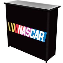 NASCAR 2 Shelf Portable Bar w/ Case
