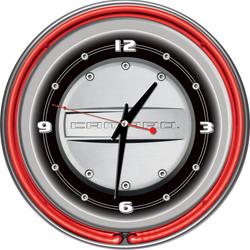 Camaro 14 Inch Neon Clock