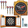 Corvette C5 Dart Cabinet Includes Darts and Board