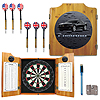 Black Camaro Dart Cabinet Includes Darts and Board