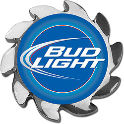 Bud Light Spinner Card Cover - Silver