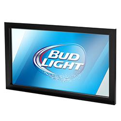 Bud Light Deluxe Mirror 15 x 26 inch