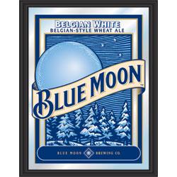 Blue Moon Framed Mirror - 15 x 20 inch