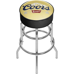 Coors Banquet Padded Bar Stool