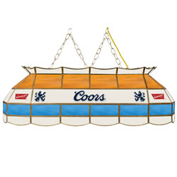 Coors Banquet Stained Glass 40 inch Lighting Fixture