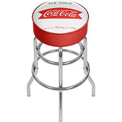 Vintage Coca-Cola Coke Pub Stool - Ice Cold Design