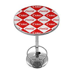 Checker Coca Cola Pub Table