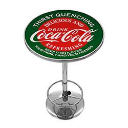 Red & Green Coca Cola Pub Table