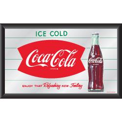 Coca-Cola Vintage Mirror Horizontal Refreshing New Feeling