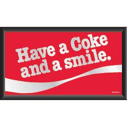 Coca-Cola Mirror - Have a Coke and a Smile