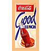 Coke Good Lunch - 30x14 Inch Stretched Canvas Print