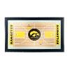 University of Iowa Basketball Framed Full Court Mirror