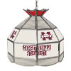 Mississippi State U Stained Glass Tiffany Lamp - 16 Inch