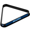 University of Maine Billiard Ball Triangle Rack
