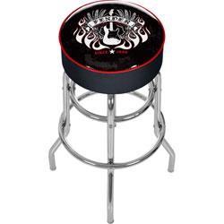 FenderR Spirit of Rock & Roll Padded Bar Stool