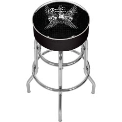 Fender Wings to the Strat Padded Bar Stool