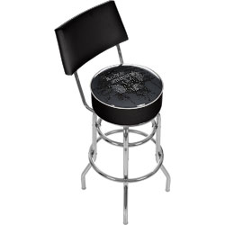 FenderR American Padded Bar Stool with Back