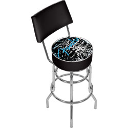 Fender Ribcage Padded Bar Stool with Back