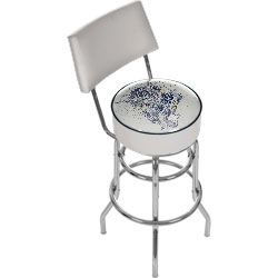 Fender Salvation Padded Bar Stool with Back