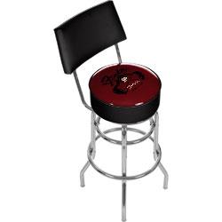 FenderR Top Hat Hot Rod Padded Bar Stool