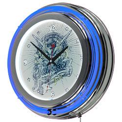 Fender Salvation Double Ring Neon Clock