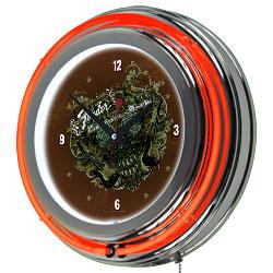 FenderR Sea of Sorrow Neon Clock - 14 inch