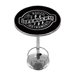 FenderR Fine Musical Equipment Pub Table